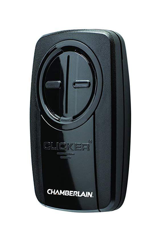 Chamberlain Group Klik3u Bk Clicker Universal 2 Button Garage Door