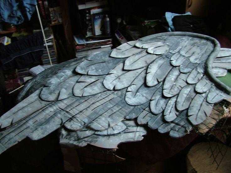 Weeping angel wings