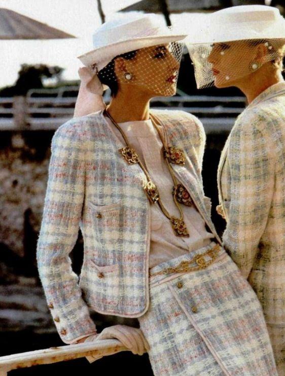 Inès de la Fressange for Chanel ᘡղbᘠ