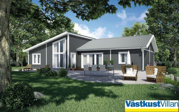 Schwedenhaus eingeschossig SkandiHaus 145   Hausideen   Pinterest ...
