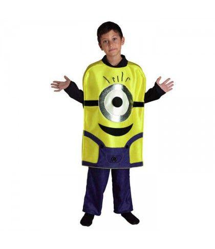 Στολή παιδική  Minion για αγόρια