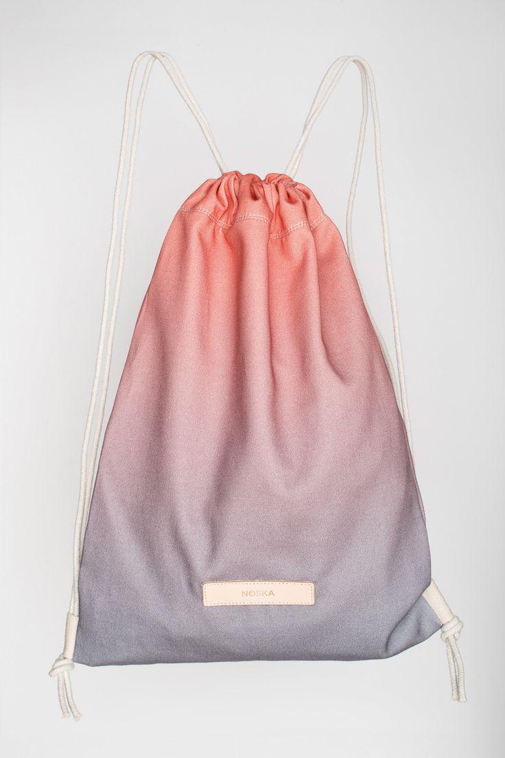Storm | NOSKA SHOP  #Storm #Rucksack #LilacGray #PeachEcho #drawstring #bag