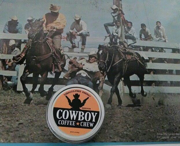 RODEO Chewing Tobacco FREE Alternative COWBOY COFFEE CHEW Energy Dip Snuff Snus