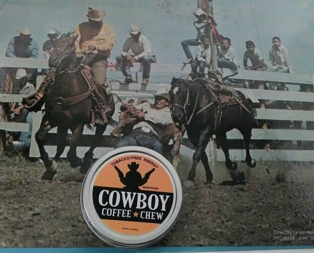 RODEO Chewing Tobacco FREE Alternative COWBOY COFFEE CHEW Energy Dip Snuff Snus