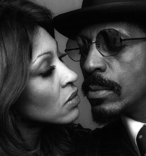 Tina and Ike Turner. Rocky marriage great musicians.
