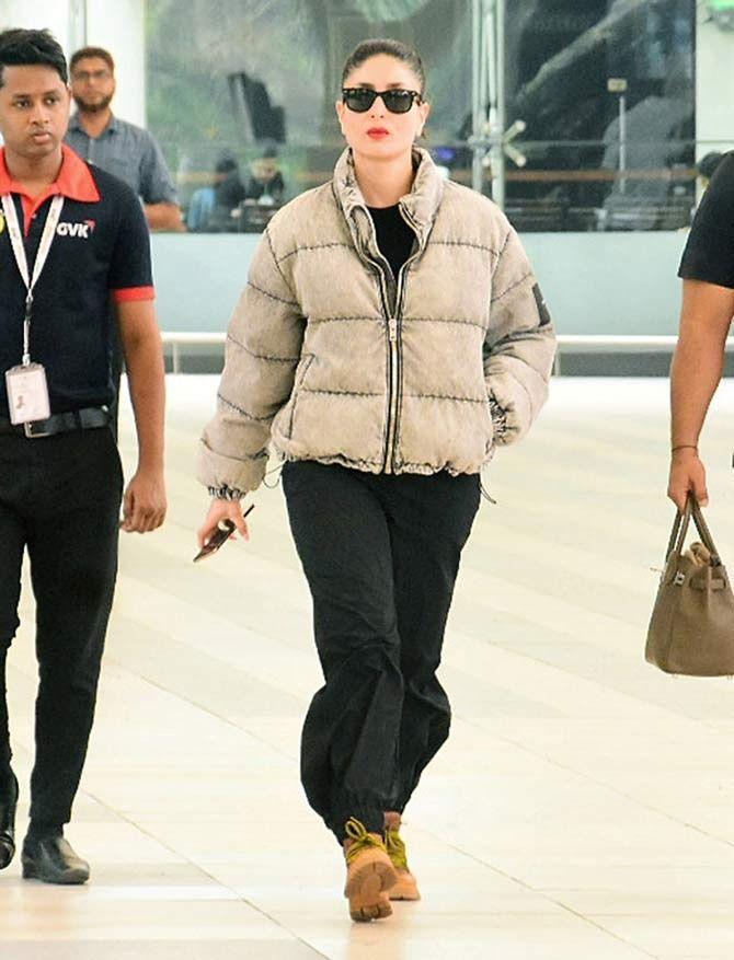 Pin By Shivani Rathore On Kareena Kapoor Khan Winter Jackets Bomber Jacket Kareena Kapoor Khan