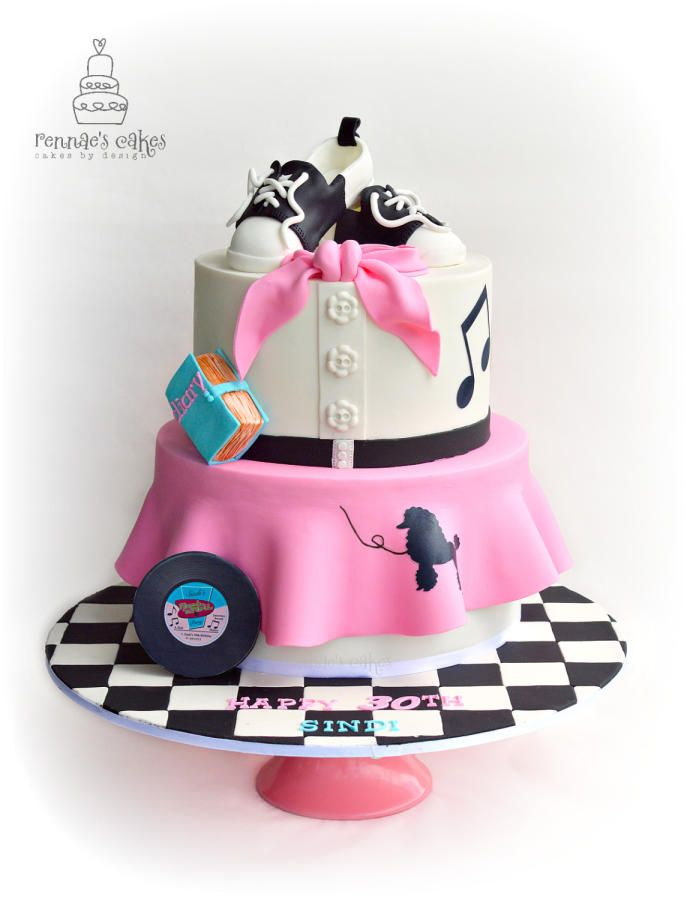50s Dance - Cake by Cakes by Design