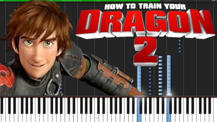 how to train your dragon test drive piano chords