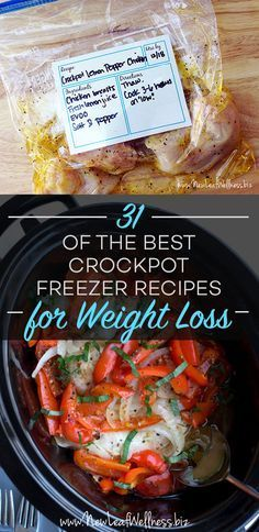Kelly from New Leaf Wellness has a great list of 31 of the Best Crockpot Freezer Recipes for Weight Loss. Her free download includes grocery lists and recipes for all of the meals. Don't forget that today is the last day to take advantage of …
