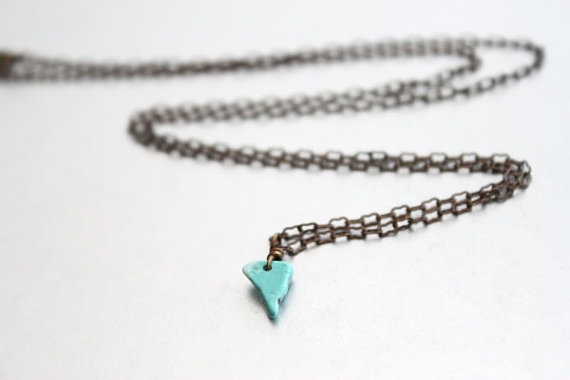 Turquoise Arrowhead Necklace by Simply Me Jewelry by MJ, $21.00: Arrowhead Necklaces, Turquoise Arrowhead