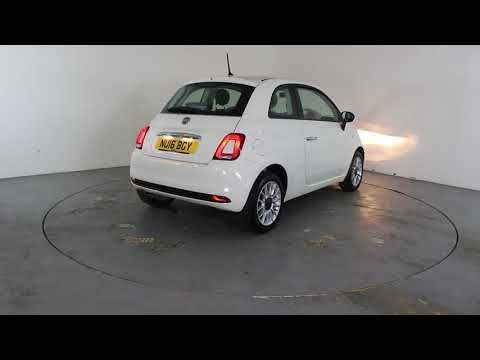 FIAT 500 1.2 POP START - Air Conditioning - Alloy Wheels - Spare Key | In white with 11000 miles on the clock. Click here to see the full listing: ...