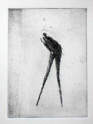 2011 Etchings & Drypoint Print  Glossom Featured Collection by Valdas Misevicius