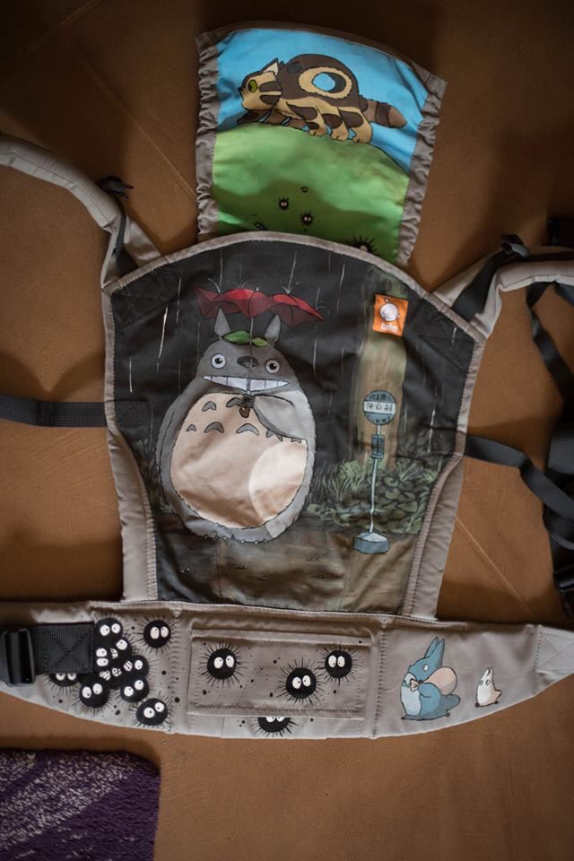 Totoro (Customized - hand painted by Lauren Daley)