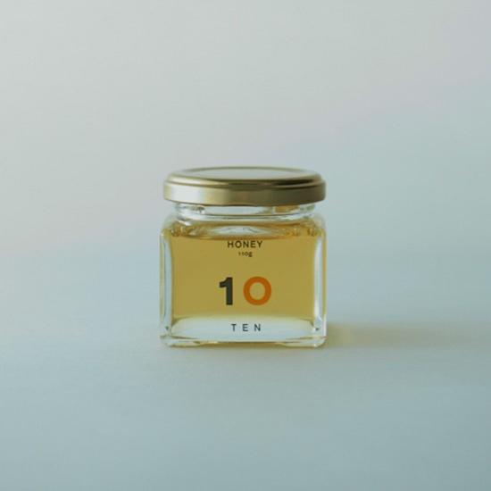 はちみつ 110g - 10 FACTORY ONLINE SHOP    Logo & Package design by artless Inc. + Produced by upsetters inc.