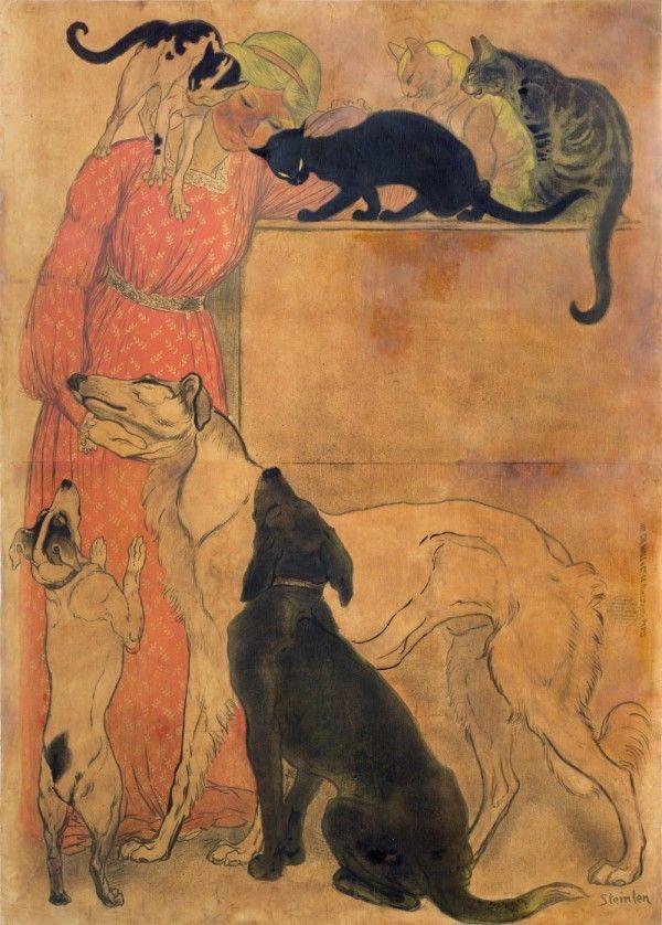 114 best Theophile Steinlen images on Pinterest Art nouveau, Belle - Lettre De Resiliation De Bail Meuble