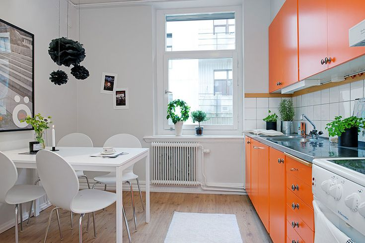Portrayal of How to Insert Orange Tone in the Kitchen – Energizing Effect