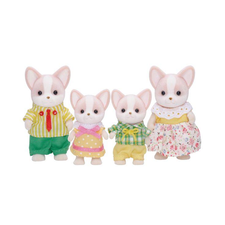 Créés au Japon il y a plus de 20 ans, les Sylvanian sont d'adorables figurines en forme d'animaux ayant chacun leur propre personnalité. Tous différents, ces petits personnages articulés à peine plus grands qu'un pouce vivent dans un environnement très chaleureux. Un univers tendre et rassurant pour s'inventer des histoires sans fin. La famille chien est au complet ; papa, maman et leurs 2 enfants sont prêts à passer une bonne journée en famille.