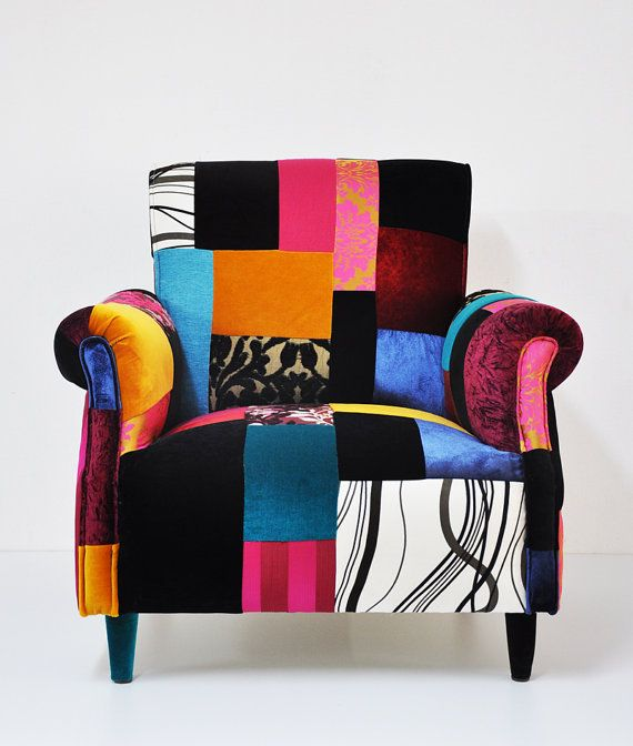 166 best home ❤ patchwork images on pinterest | armchairs, chairs