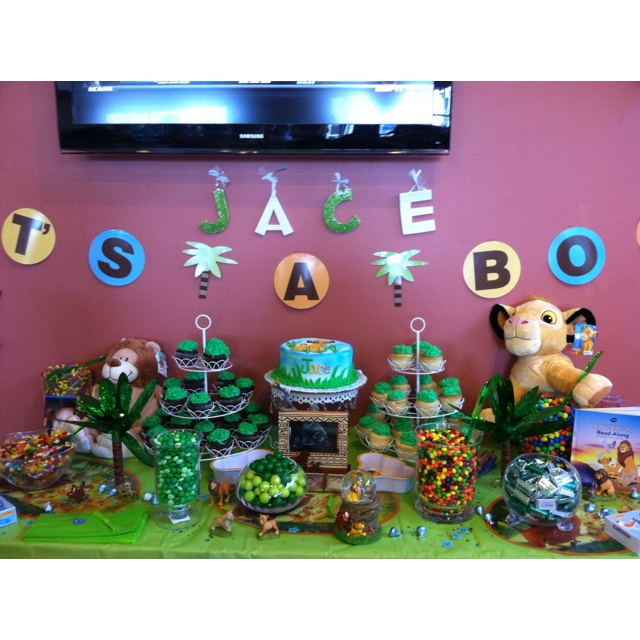 Baby Simba Baby Shower.. I Would Love To Have A Simba/Lion King