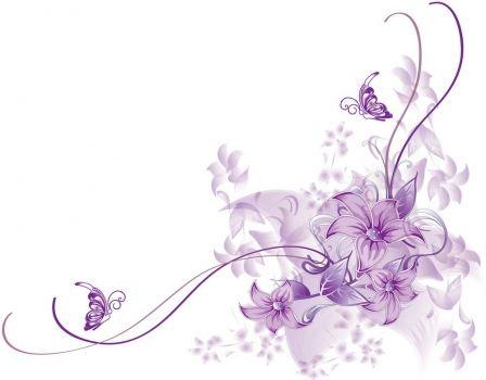 Fotomural Floral morado. Mural Floral morado                                                                                                                                                                                 Más