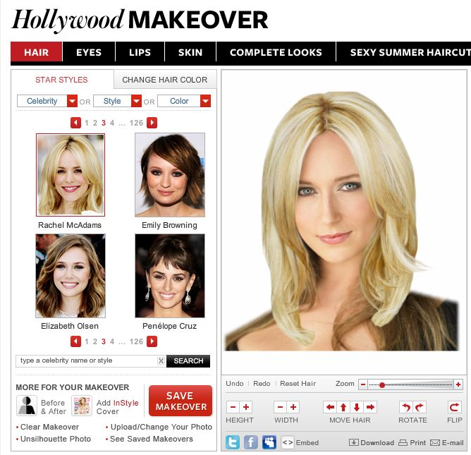 try on hairstyles with the Virtual Makeover. - Best 25+ Virtual Hair Color Ideas On Pinterest Life Hacks Hair