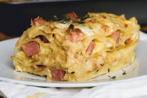 All Day Breakfast Lasagne – SYN FREE
