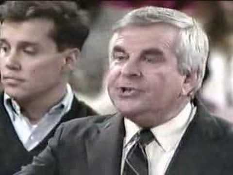 Jerry Williams on the Morton Downey Jr Show 1988 - YouTube
