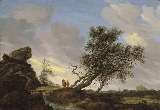 Old Masters Landscape Paintings | Salomon van Ruysdael