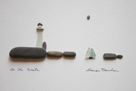 Sharon Nowlan: Pebble art.                                                                                                                                                                                 Mehr