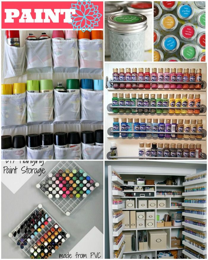 1000 ideas about craft storage solutions on pinterest craft storage craft rooms and wooden - Organization solutions for small spaces paint ...