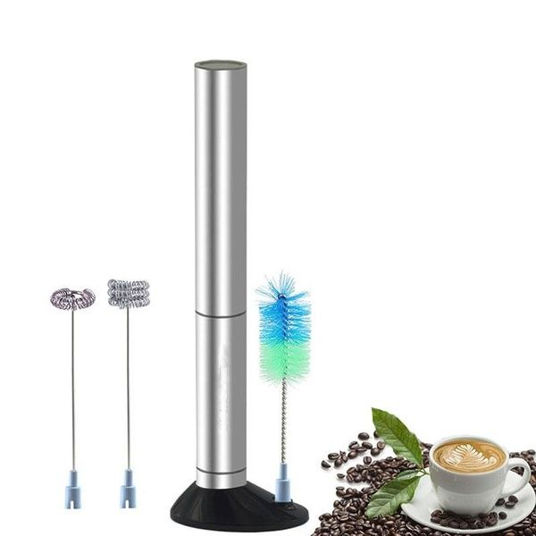 Blender Coffee Milk Frother Handheld Stainless Steel Drink Mixer Electric Mixer