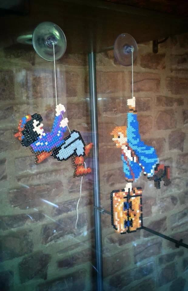 Monkey island hama beads frikithings