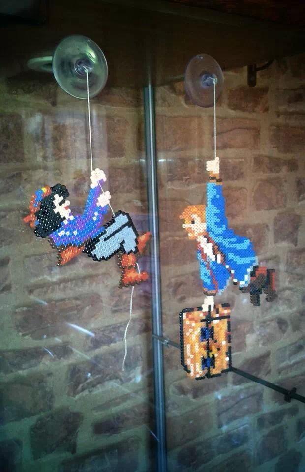 Monkey island hama beads frikithings