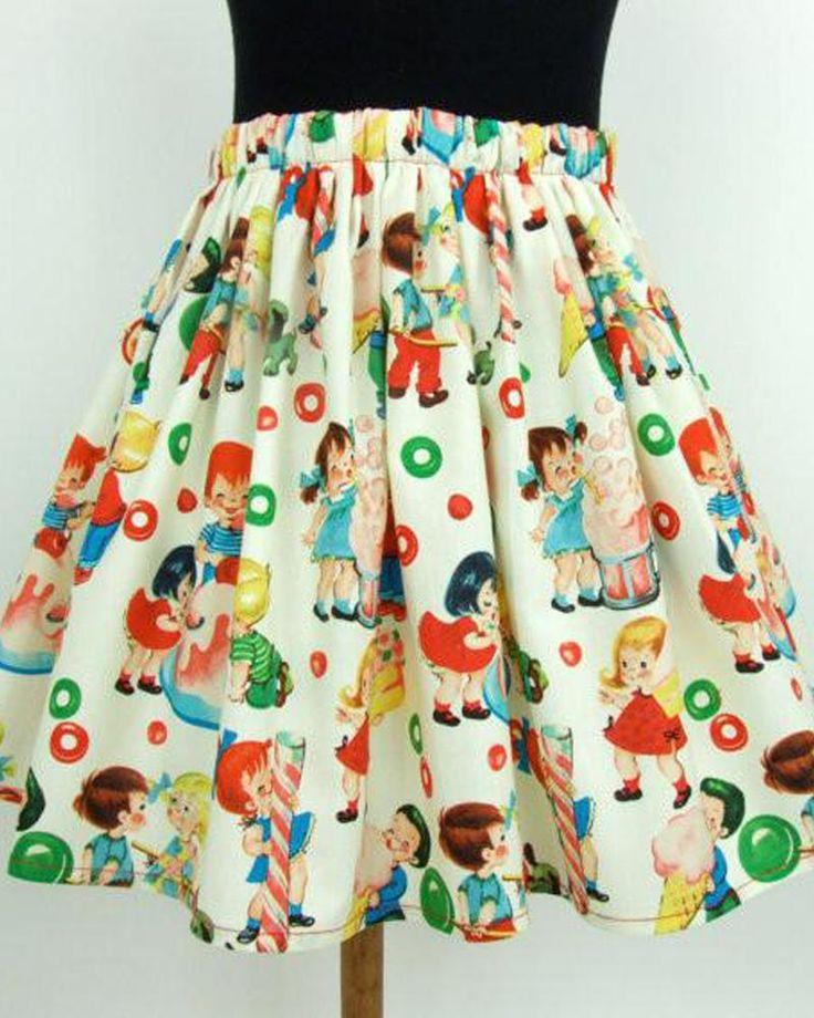 Vintage Candy Skirt – Bump & Bunny