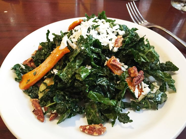 Serve Up A Healthy Brunch With Black Kale Salad From McGintyu0027s An Irish Pub  In Down Town Silver Spring, Maryland.