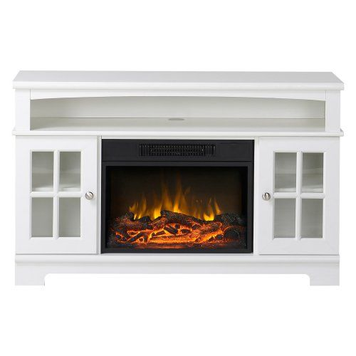 Flamelux Zarate 44.5 in. Electric Media Fireplace - Fireplaces at Hayneedle