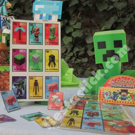 minecraft recuerdos loteria