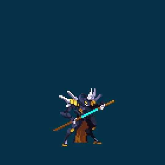 Neutral Dagona by JerryPie #pixelart #character #animation