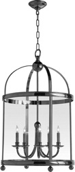 Chart House Large Edwardian Arch Top Lantern in Antique-Burnished Brass by Visual Comfort CHC3428AB