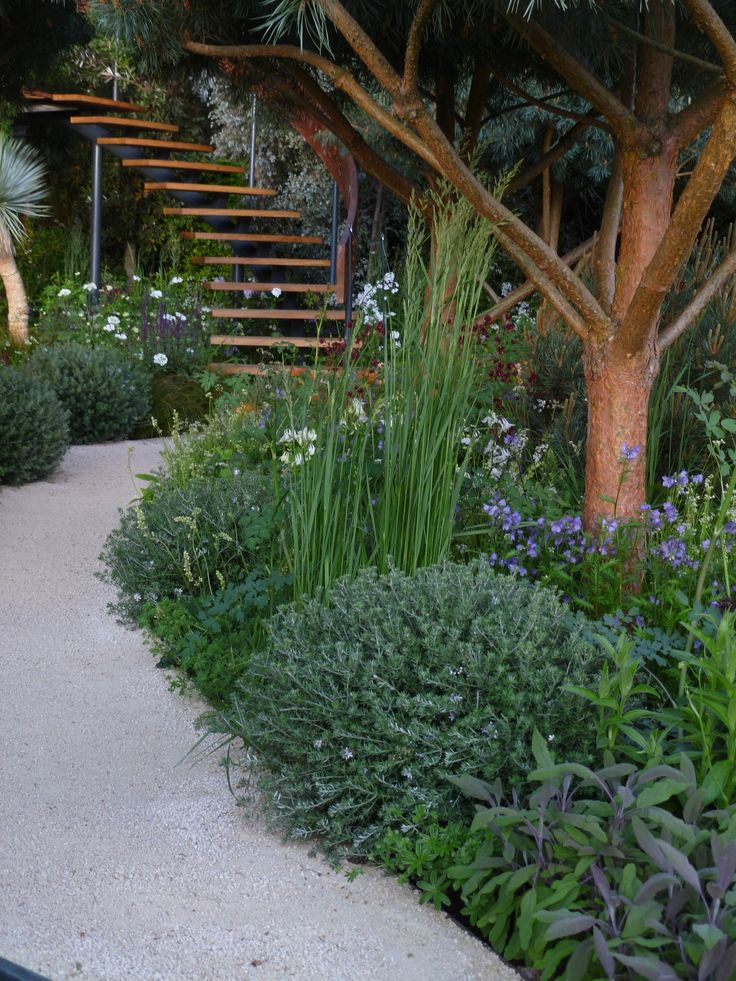 The Winton Beauty of Mathematics garden designed by Nick Baley at Chelsea Flower Show 2016