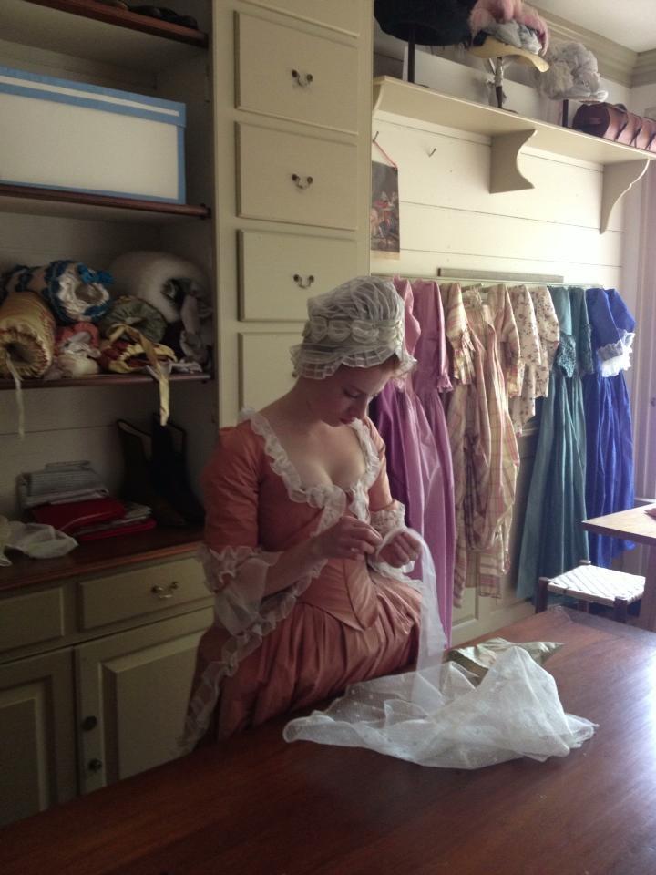 At Colonial Williamsburg.
