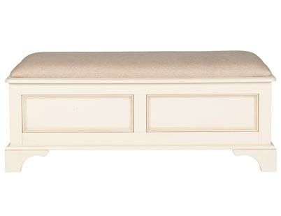Clifton Ivory Blanket Box