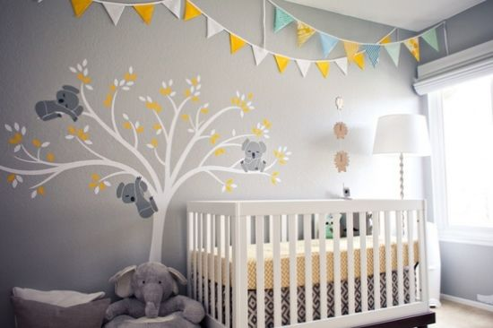 ideen einrichtung zimmer baby babyzimmer pinterest haus koalas and colour. Black Bedroom Furniture Sets. Home Design Ideas
