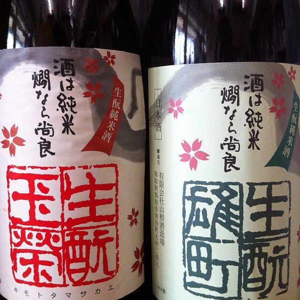 【新着】赤緑日置桜♪ 色はともかく、生酛玉栄21BY、入荷しました!