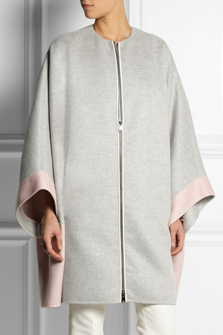 Fendi | Two-tone cashmere coat | NET-A-PORTER.COM