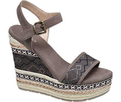 Keil Sandalette von Catwalk in braun - deichmann.com