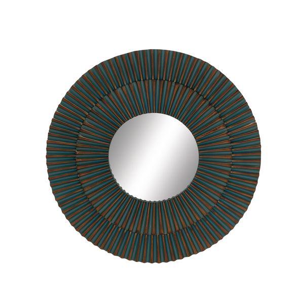 Round Beveled 26-inch Mirror