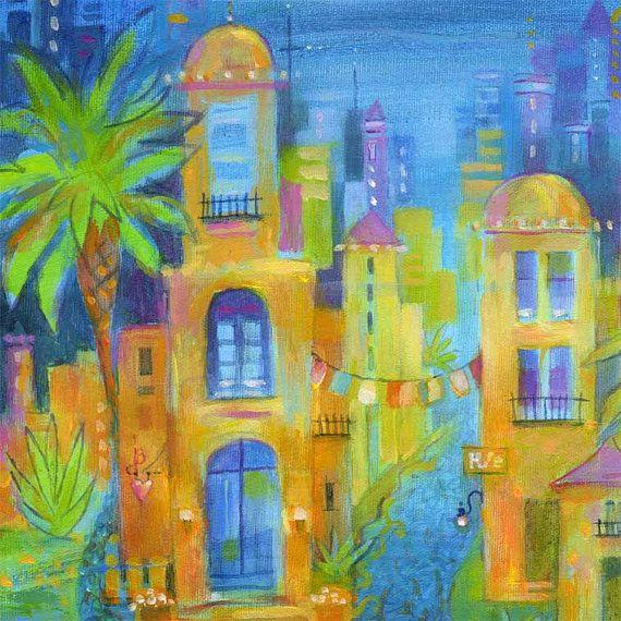 Viva Mexico Art Print 8 x 10 par Karen Gillis par KarenGillisTaylor