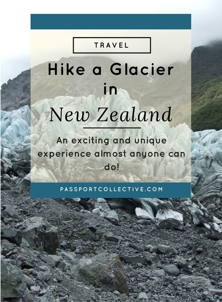 Hiking a Glacier - an exciting and unique experience almost anyone can do.