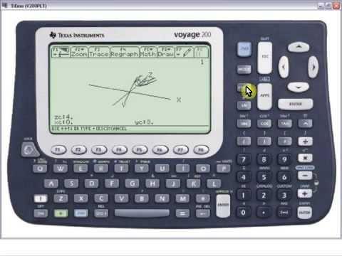 Graficar en la Voyage 200 - Representacion Grafica en 3D en la Calculadora Voyage 200